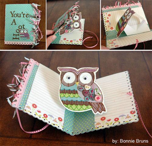 Owl Card Bonnie