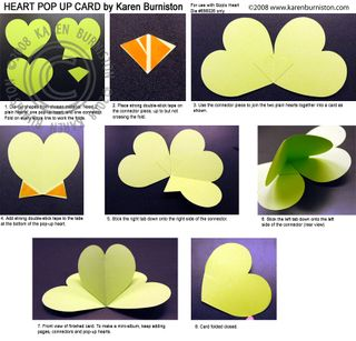 Heart card instructions