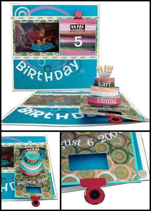 Birthday Layout Age 5