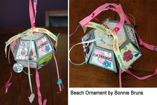 Bonnie Ornament Beach