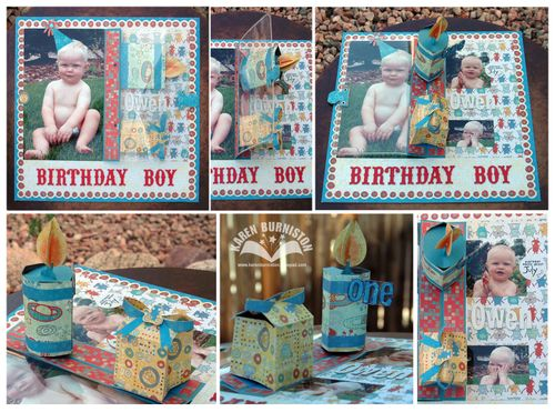 Owen Birthday Boy Layout