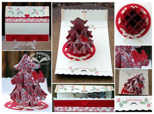 SU Make Merry Tree Card