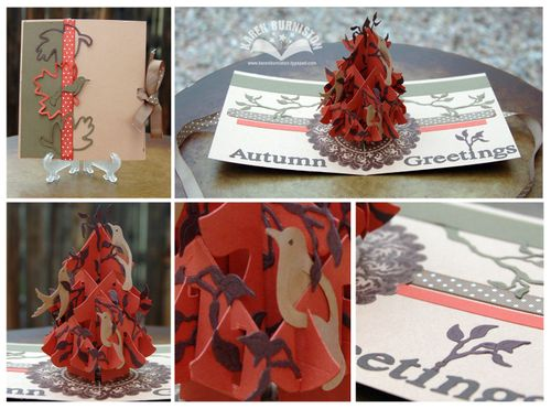 SU Autumn Greetings Tree Card