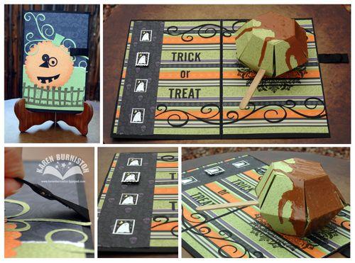 su caramel apple halloween card - Stampin Up Halloween Ideas