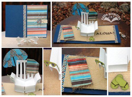 Aloha Beach Chair Card