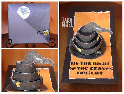 Tara Witch Hat Card
