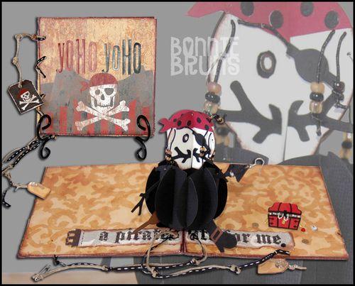 Bonnie Pirate Card