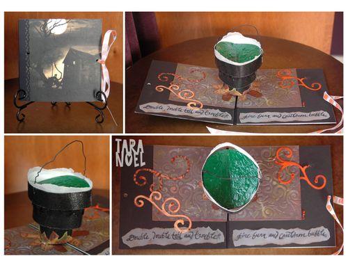 Tara Cauldron Card