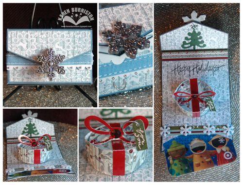 Scoreboard Gift Card Holder