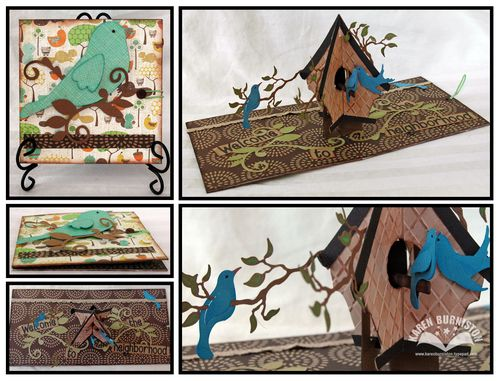 Welcome Birdhouse Card