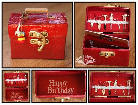Tool Box Gift Card Holder