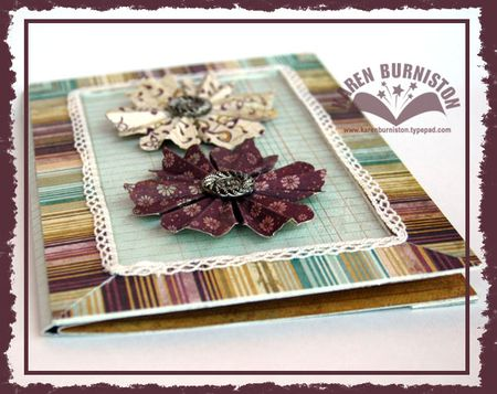 Beauty Bloom Card Side View