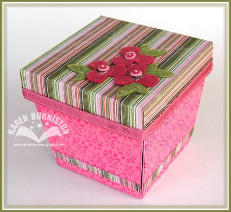 1 Birthday Cake in a Box Closed