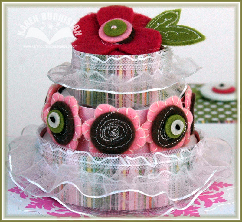 5 Birthday Cake in a Box closeup cake