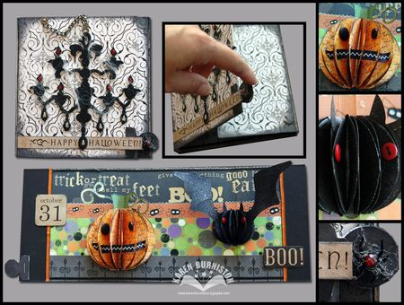 Halloween Chandelier Card