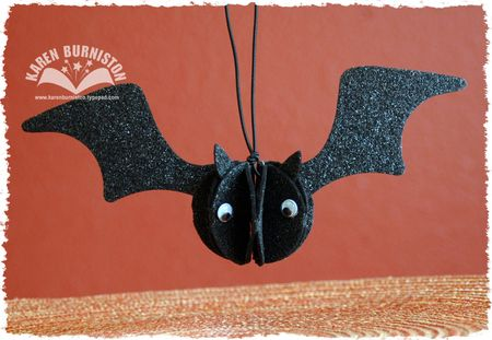 Felt Bat Ornament