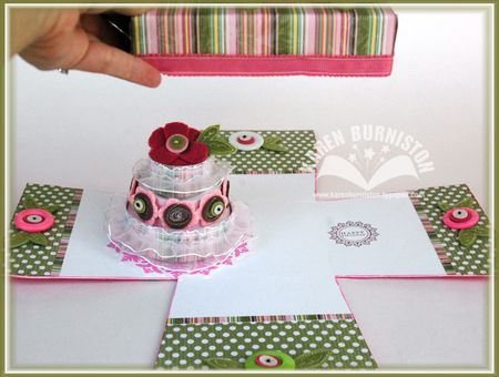 2 Birthday Cake in a Box lift lid