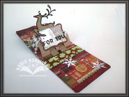 03 Reindeer Card Open
