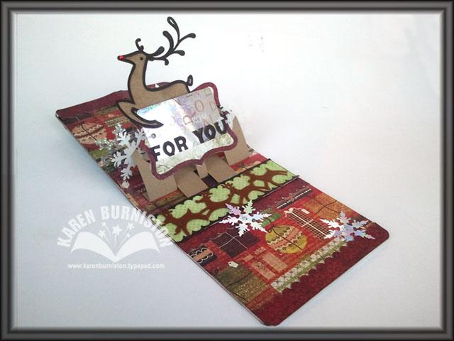03 Reindeer Card Open