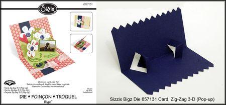 Zig Zag Card Insert