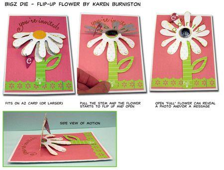 Bigz Flip up Flower summary