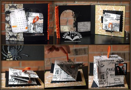 Halloween Cube Card