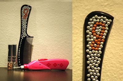 Bedazzled comb
