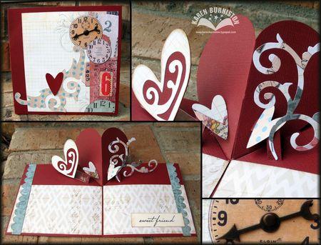 Posh Heart Card