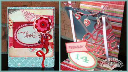 08 Mirrored Love Card