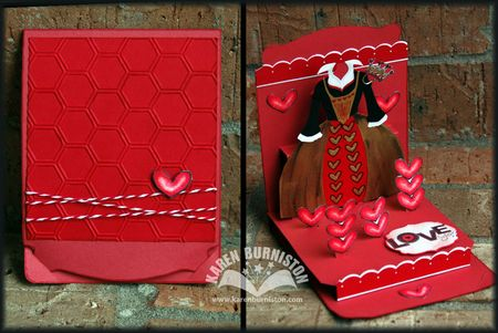 Stampin Up Queen of Hearts