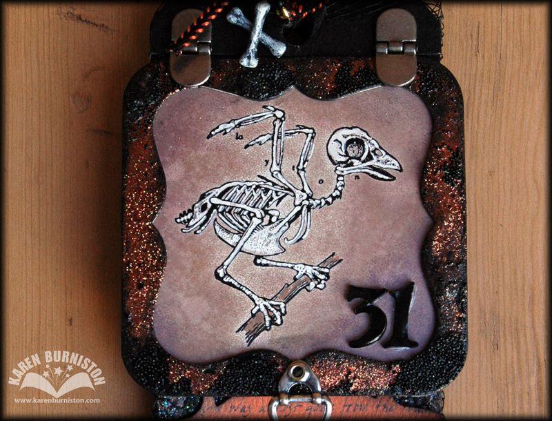 02 Zombie Raven Frame