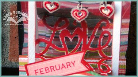 03 Mirrored Love Card Mirror