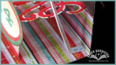 06 Mirrored Love Card Flagpole