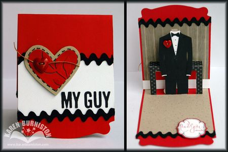 My Guy Pop-up Card