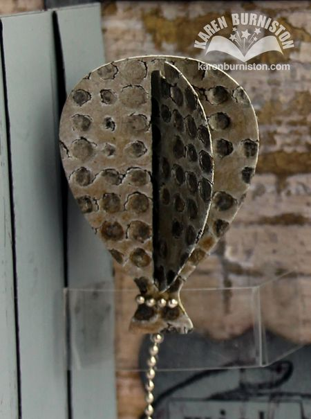 Steampunk Door Card Balloon