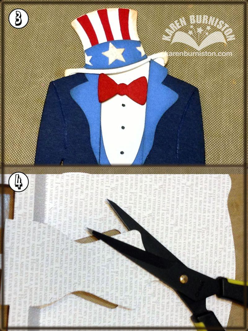 Uncle Sam Steps 3 4