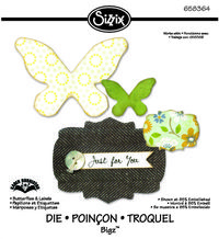 658364 Bigz Butterflies and Labels