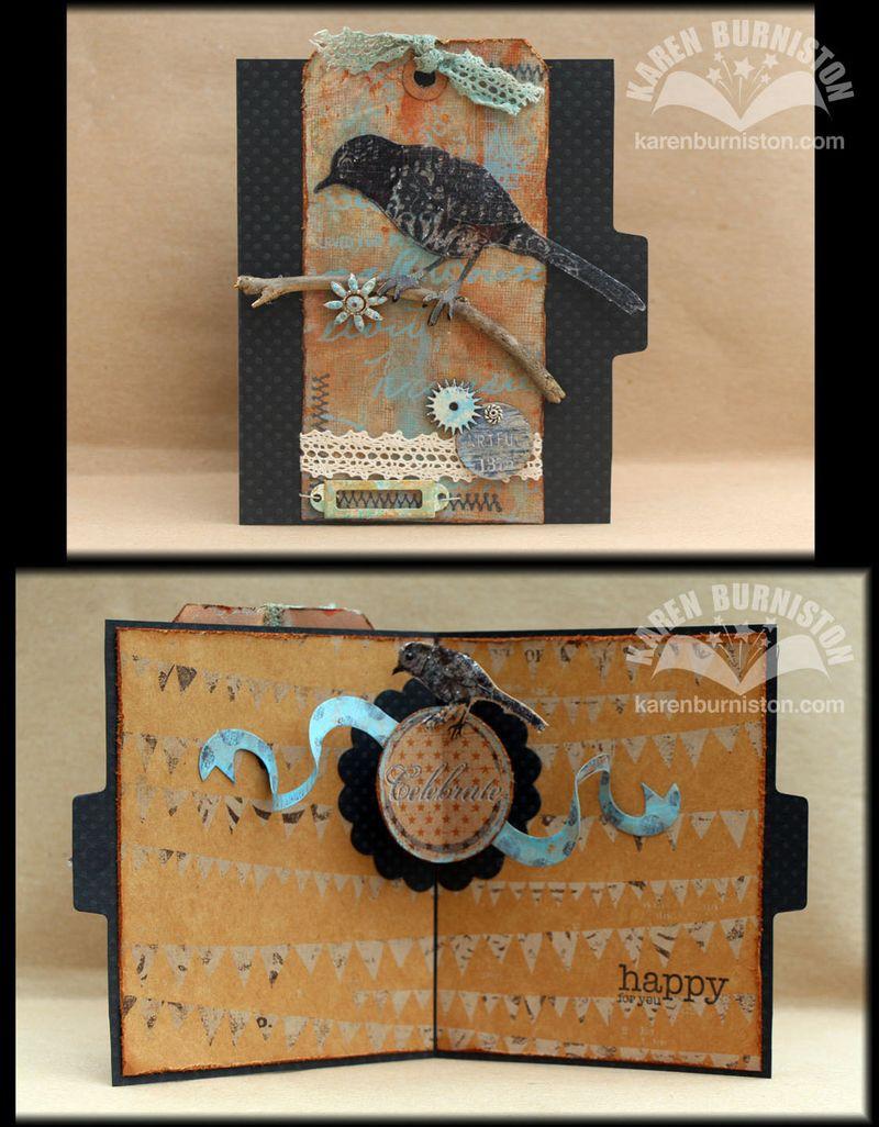 Bird Celebrate Card