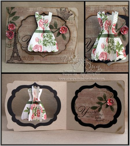 Amour Dress Card