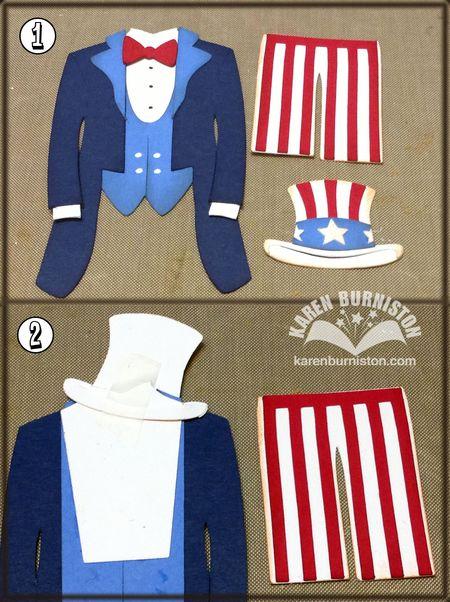 Uncle Sam Steps 1 2