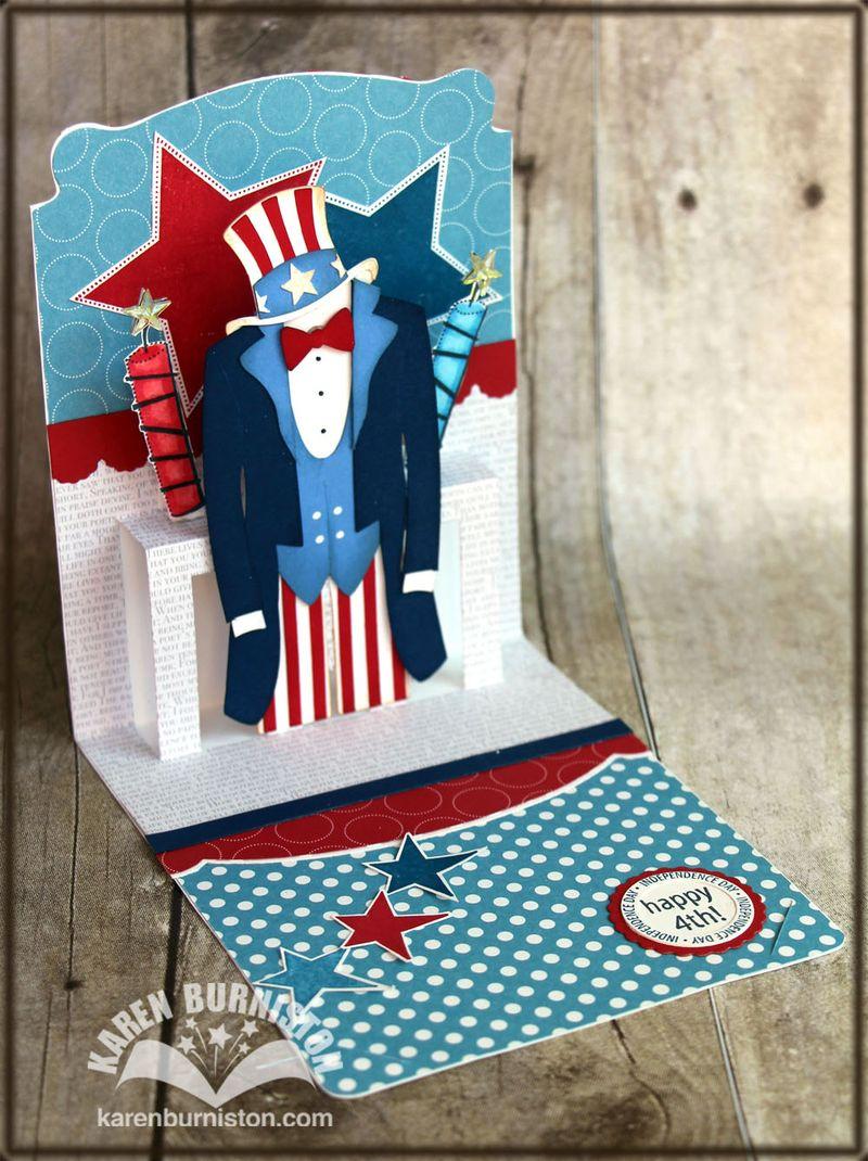 Uncle Sam Pop n Cuts Inside Side