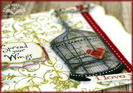 Love Birds Card Detail2