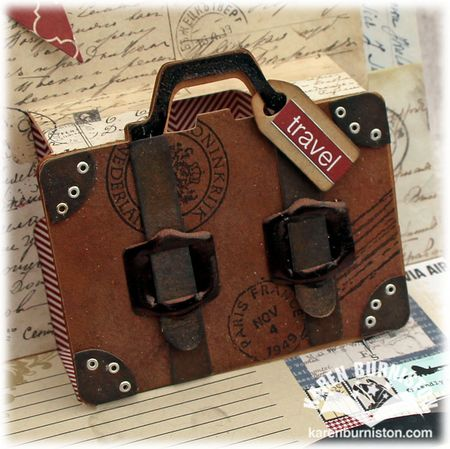 Bon Voyage Suitcase Close-up