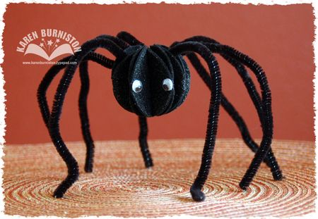 Felt Spider