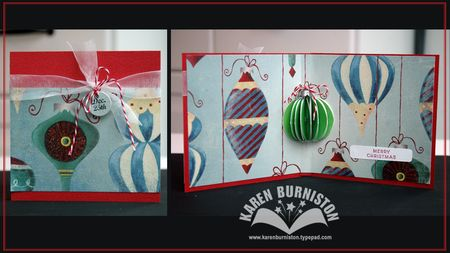 Ornament Card WM