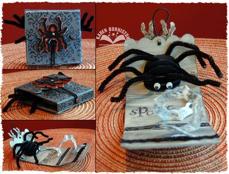 Spider Memo Holder