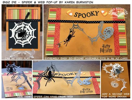 Spider Web Bigz Die Summary Photos