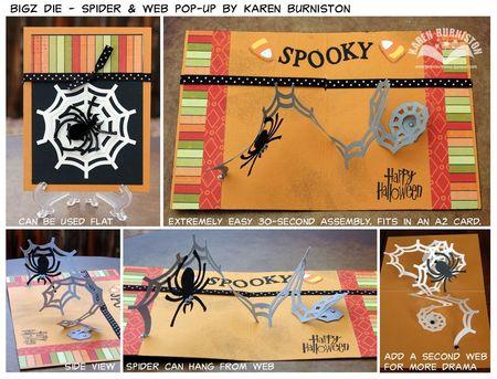 Spider Web Bigz Die Summary Photos