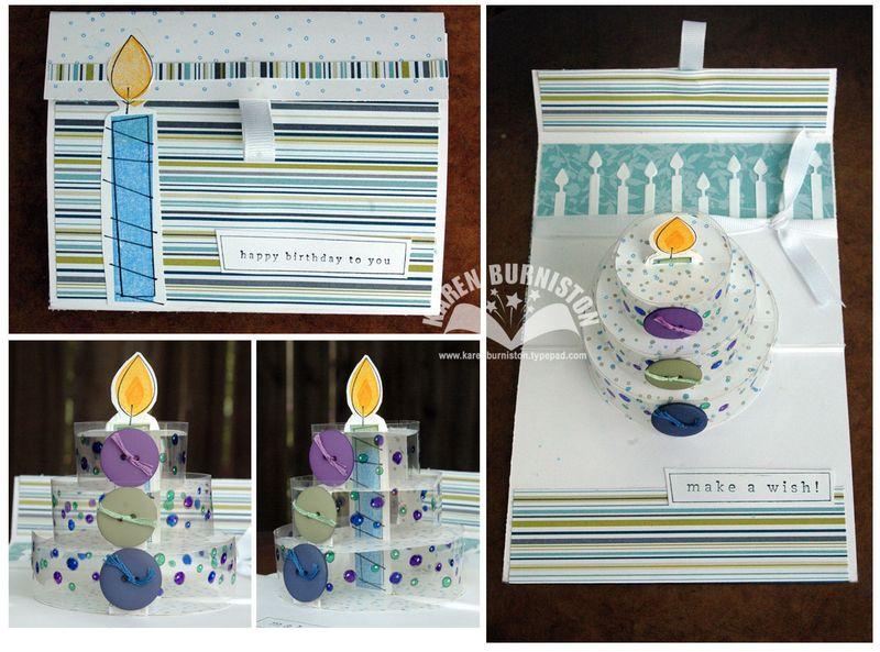 Birthday Cake Card SU