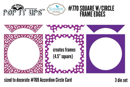 770 Square Circle Frame Edges NP